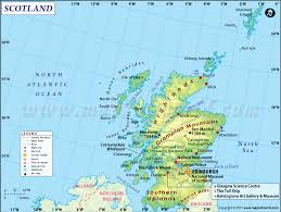 map of and scotland scotland map detailed map of scotland uk