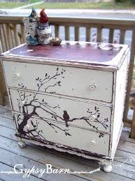 Painted Bedroom Furniture Ideas by Best 25 Lace Painted Furniture Ideas On Pinterest Lace Painting