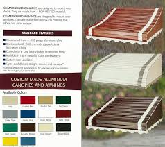Storm Awnings Best 25 Aluminum Awnings Ideas On Pinterest Aluminum Patio