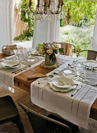 table setting runner and placemats table runners as placemats tables pinterest table settings