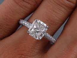 diamond ring cuts best 25 cushion cut diamond ring ideas on