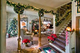 marvellous christmas decorated homes contemporary best