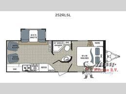 kodiak travel trailer floor plans new 2017 dutchmen rv kodiak ultimate 252rlsl travel trailer at
