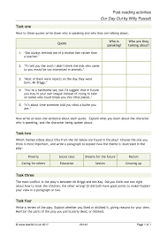 key stage 3 plays english teaching resources teachit english