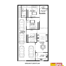 Low Cost House Plans With Estimate House Plan For 32 Feet By 58 Feet Plot Plot Size 206 Square Yards