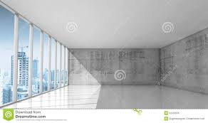 interior concrete walls abstract architecture empty interior with concrete walls stock