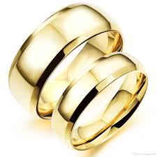 wholesale gold rings images Couple wedding rings gold wedding promise diamond engagement jpg