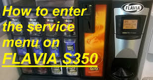 how to enter the service menu on flavia s350 youtube