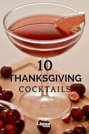 223 best thanksgiving cocktails images on