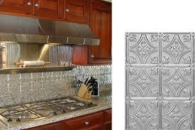 metal kitchen backsplash kitchen awesome kitchen backsplash options metal my home design