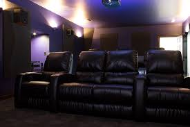 curved home theater seating project showcase a cinephile u0027s home theater