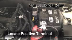 ford fusion battery how to jumpstart a 2010 2012 ford fusion 2010 ford fusion se 2 5