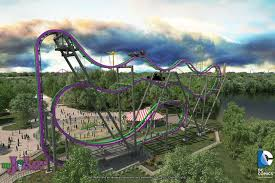 test ride of six flags new roller coaster the joker