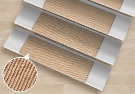 rectangular sisal stair treads