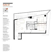 169 Fort York Blvd Floor Plans by Smart House Condos Floorplans Suite 07 Two Bedrooms