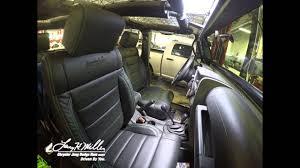 custom jeep seats let us install custom katzkin leather in your jeep youtube