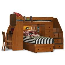bedroom full size loft with desk bunk beds with study desk youth
