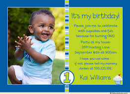 photo cupcake boy invitation sweet baby blue striped