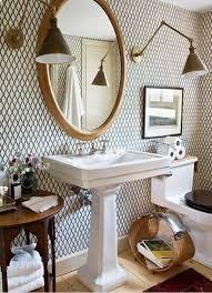 wallpaper for bathroom ideas the 25 best small bathroom wallpaper ideas on