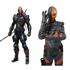 Halloween Costume Armor Aliexpress Buy Xcoser Deathstroke Costume Batman Arkham