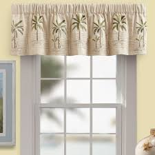 kitchen window valance ideas palm tree window valance window