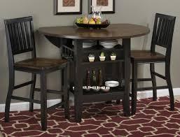 round drop leaf table set jofran braden birch 42 round dining and kitchen table colder s