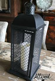 Lantern Decorating Ideas For Christmas Find A Christmas Lantern On Clearance And Decorate It For Winter