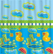 duck shower curtains duck family shower curtain cute ducky