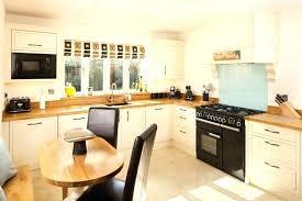 cuisine plan travail bois cuisine blanche et plan de travail bois cuisiniste caen luxe