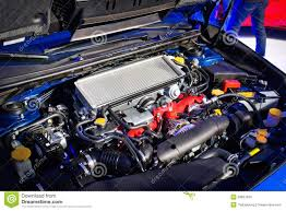 subaru wrx engine subaru wrx sti 2014 2015 engine editorial stock image image