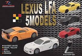 lexus lfa model lexus lfa 5 models model vehicle sets hobbydb