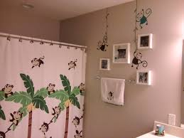 kids bathroom wall decor amazing dcor ideas monkey wall decals kids bathroom decor