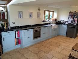 kitchen design bristol interior black honed granite countertop with white wood