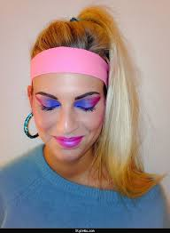 1980s Halloween Costume 80s Makeup 80s Hairstyles 80s Hair Makeup