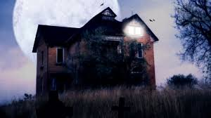 houses haunted house stretched halloween clouds sky nature seasonal fun parentmap