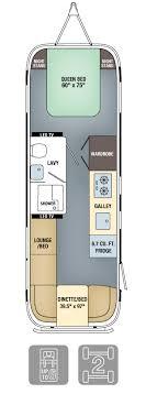 yacht floor plans airstream land yacht floor plan specs airstream com
