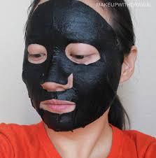 smeared mask spirit halloween mask madness vol i missha o u0027liye my beauty diary innisfree