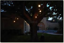 landscape lighting outdoor low voltage flower hanging tree light