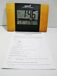 Digital Atomic Desk Clock Atomic Wall Clocks Skyscan Atomic Clocks Pinterest