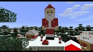 day 7 santa statue 12 days of minecraft christmas youtube
