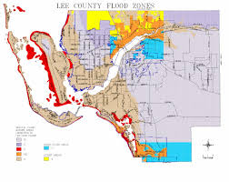 Map Of Southwest Fl Map Of Lee County Flood Zones