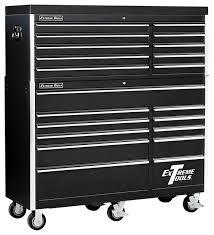 professional 11 drawer tool chest w wheels black finish