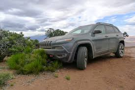 2015 jeep cherokee trailhawk meets moab a desert duel the truth