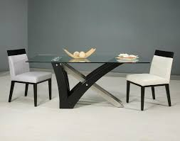 Frosted Glass Dining Table And Chairs Rectangle Frosted Glass Door Table For Dining Room With