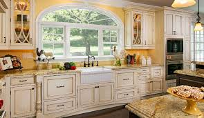 cottage kitchen natural light plain u0026 fancy cabinetry