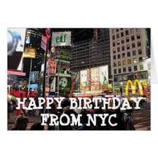 new york city happy birthday cards u0026 invitations zazzle co uk