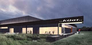 exterior view kuat racks arkifex modern architecture springfield mo