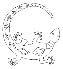 desert lizard coloring page lizards coloring page 3