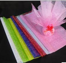 cello wrapping paper free shipping 50pcs print cellophane plastic paper flower wrapping