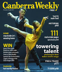 16 april 2015 by canberra weekly magazine issuu